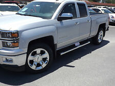 General Motors Genuine OEM Car and Truck Running Boards for sale   eBay 2014 2017 Chevrolet Silverado GMC Sierra GM OEM 6  Rect Chrome Assist Steps  NEW