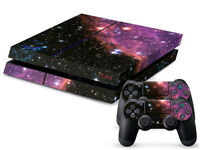 Blue DEEP SPACE Sticker for Playstation 4 PS4 Console + 2 Controller Skins | eBay