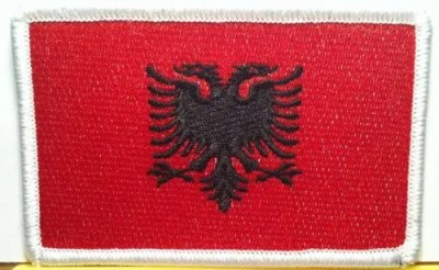 ALBANIA Flag Tactical Patch With VELCRO® Brand Hook & Loop | Etsy