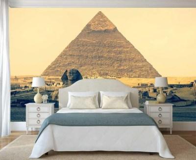Wall Art Wallpaper Wall Mural Pyramid Egypt Wall Decal Wall | Etsy