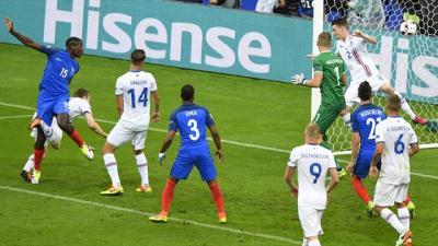 EM 2016: Frankreich schießt sich gegen Island für Halbfinale gegen Deutschland warm - EM 2016 ...