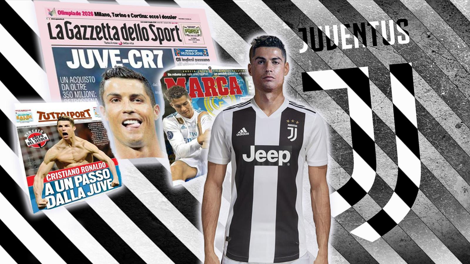 VIDEO   Euro Papers  Cristiano Ronaldo s move from Real Madrid to     VIDEO   Euro Papers  Cristiano Ronaldo s move from Real Madrid to Juventus   is happening     Video Eurosport UK