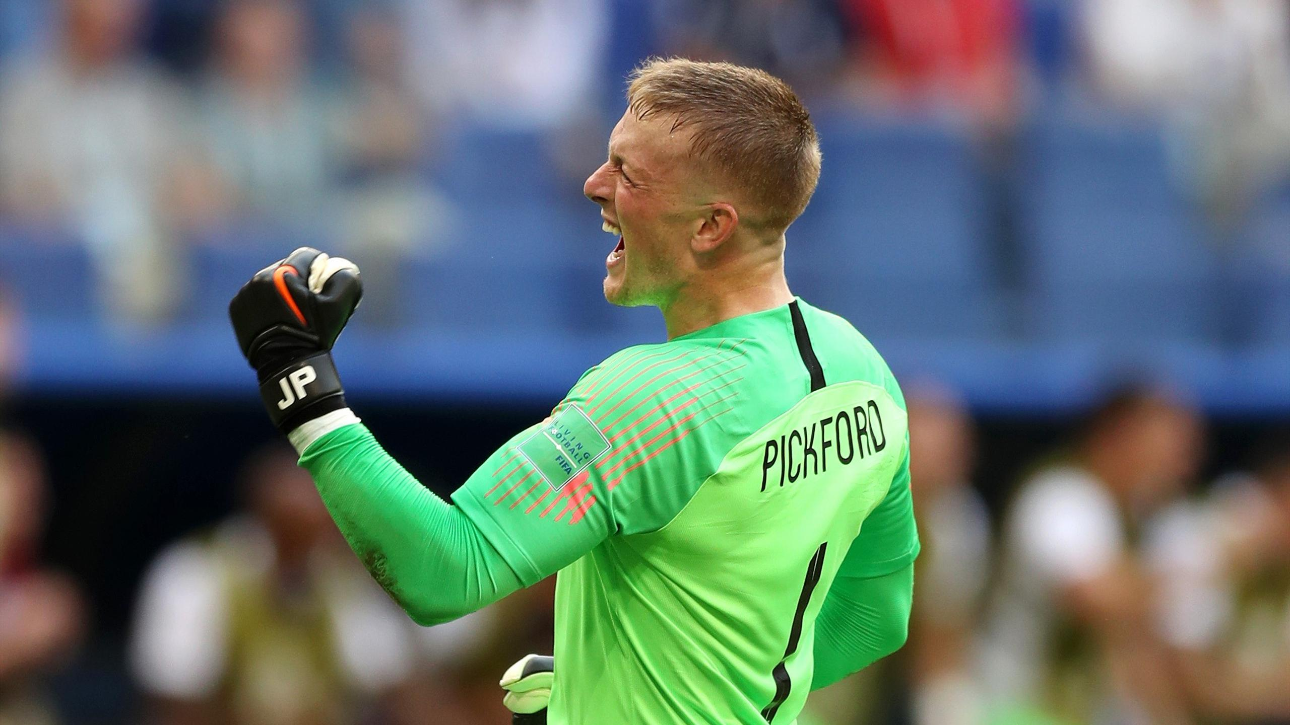 Jordan Pickford the best keeper in the world    reaction to England      Jordan Pickford the best keeper in the world    reaction to England  stopper heroics   World Cup 2018   Football   Eurosport
