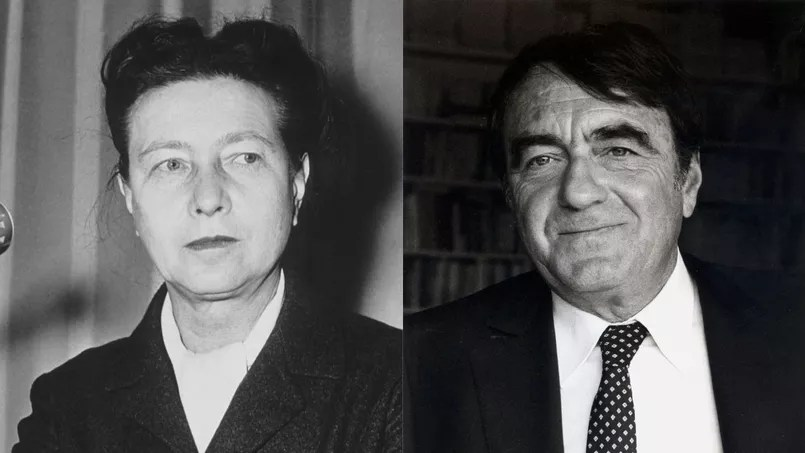 Claude Lanzmann and Simone de Beauvoir   crazy love      TECH2 Claude Lanzmann and Simone de Beauvoir   crazy love