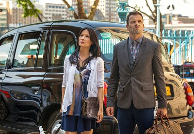 'Elementary' Season 2 Premiere: First Look At Rhys Ifans As Mycroft Holmes And Sean Pertwee As ...