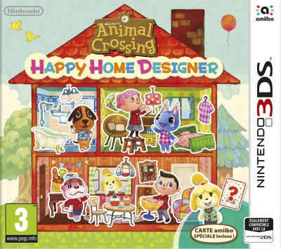 Test Animal Crossing Happy Home Designer sur 3DS