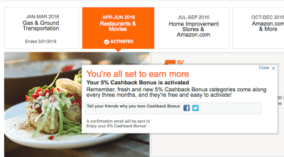 """Activate Your Credit Card's """"Rotating Rewards"""" to Get Even More Cash Back"""