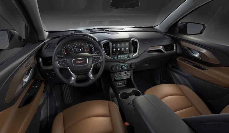 Gear Selector Buttons Make A Comeback On The New 2018 GMC Terrain Photo credit  GMC