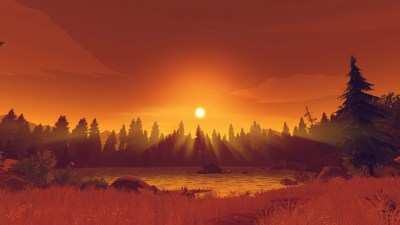 Firewatch Has Your Wallpaper Needs Covered For 2016 | Kotaku Australia