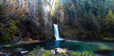 Toketee Falls on the North Umpqua River, OR [13836 × 6886 ...