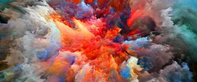 Color Explosion [3440x1440] : WidescreenWallpaper