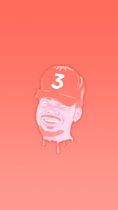 Chance iPhone Wallpaper. Made with desogn by u/ThatGuyWithCoolHair : ChanceTheRapper