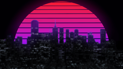 City with A E S T H E T I C background [2560 - 1440] : wallpapers