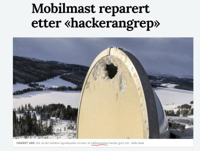 Hackerene blir stadig mer utspekulerte (fra namdalsavisa) : norge