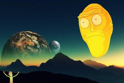 In addition to my phone background I made a 2736x1824 desktop wallpaper : rickandmorty