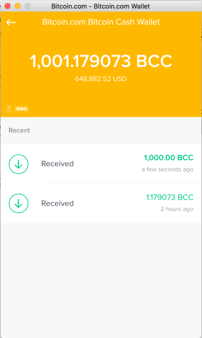 Bitcoin.com Wallet Bitcoin Cash Testing is going well. Public release is coming soon! : btc