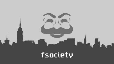 [No Spoilers] fsociety Background : MrRobot