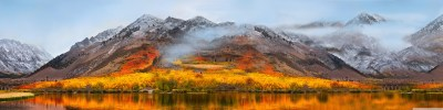 OS X High Sierra Wallpaper - Extended - Multiple Monitors [5760x1440] : wallpapers