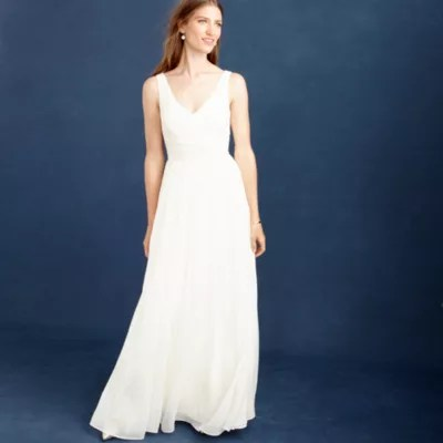 j crew wedding dress Heidi gown
