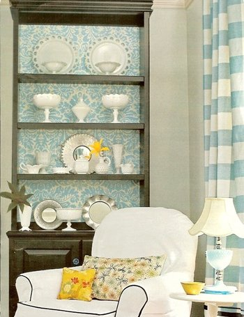 50 Ideas To Spice Up Your Bookcase With A Backround - Shelterness