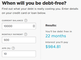 credit card - How to calculate the number of months until a loan is paid off (given principal ...
