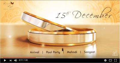 Template - Wedding invitation video - Video Production ...