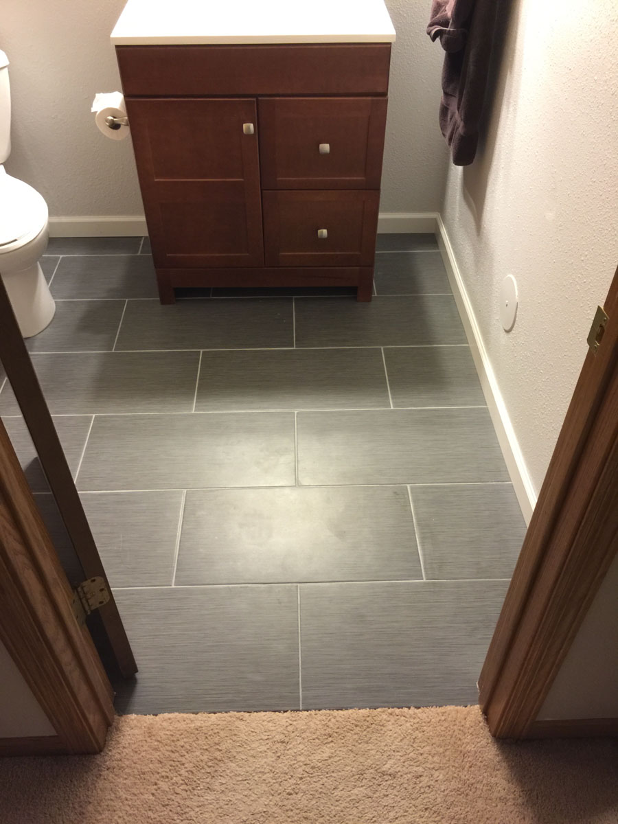 when tiling a floor must i start in the middle of the room kitchen floor tiles Threshold The whole room Threshold corner Overview of entrance
