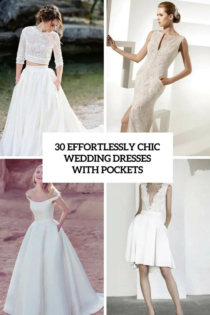 wedding dresses with pockets wedding dress with pockets 30 Effortlessly Chic Wedding Dresses With Pockets