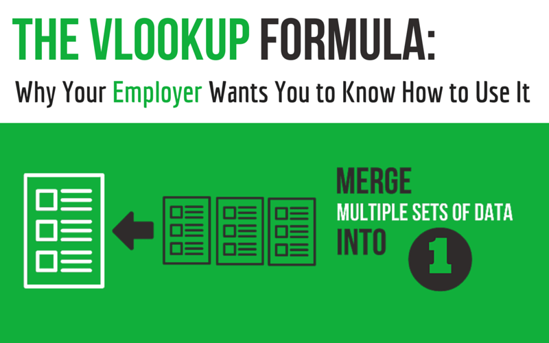 The Vlookup Formula: Why Your Employer Wants you to Know How to Use It (And What You Can Do ...