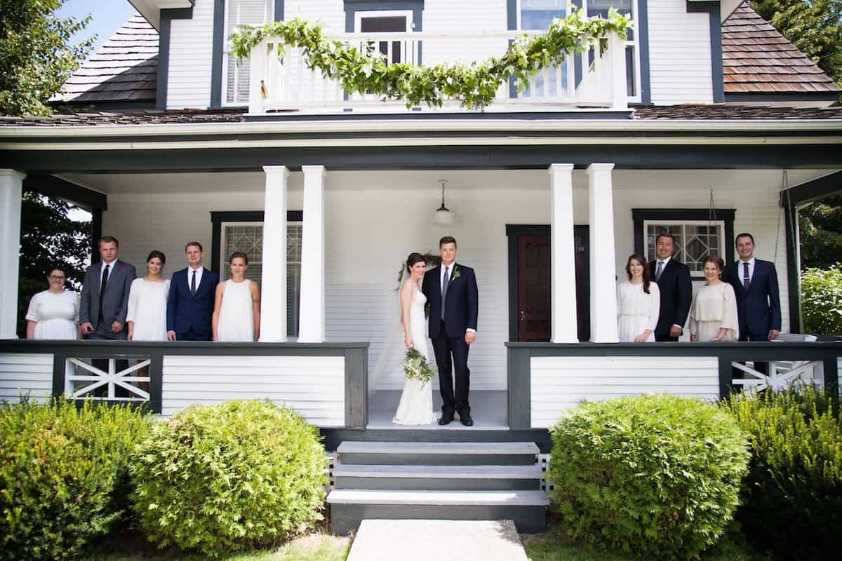 A Real Backyard Wedding Ceremony and Reception - Home for ...