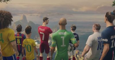 Nike World Cup advert 2014: Wayne Rooney, Ronaldo, Neymar ...