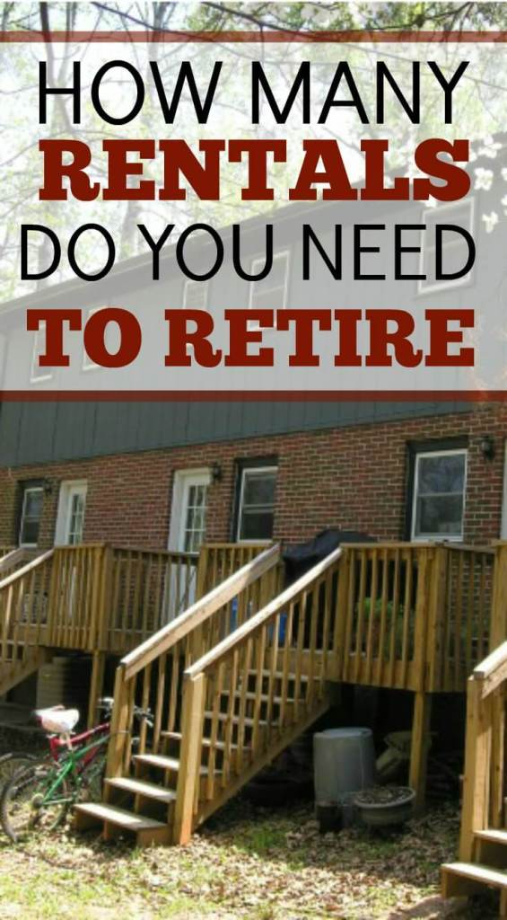 How Many Rental Properties Do You Need to Retire?