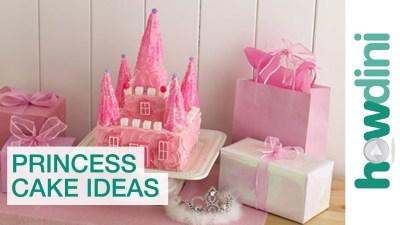 Birthday Cake Ideas: The Princess Castle Cake Birthday Cake - YouTube