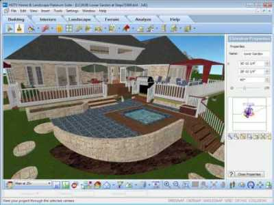 HGTV Home Design Software - Using The View Options - YouTube