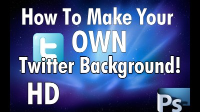 [2012] How To Make Your Own Twitter Background With ...