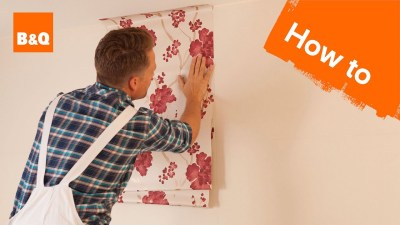 How to Hang Wallpaper Part 2: Hanging - YouTube