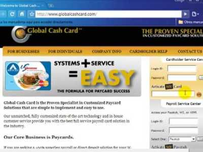 Como Activar mi Tarjeta Global Cash Card en 2plus7 - YouTube