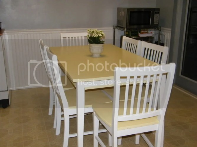 painted kitchen table chairs painting kitchen table Painted Kitchen Table Chairs
