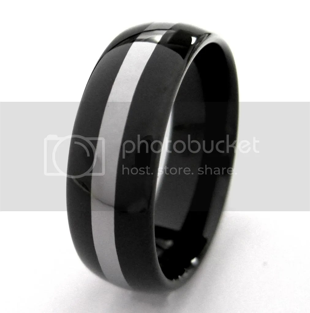 mens black wedding ring black mens wedding rings Wedding Bands Mens Black Wedding Bands