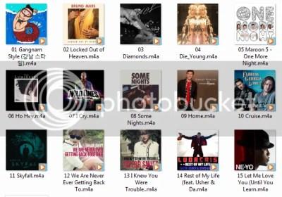 - Singles Chart - 11.11.2012 [Itunes] - Lý Trần Thiên