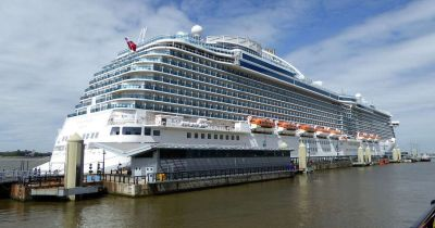 Pictured: Look inside the stunning Royal Princess cruise ship which sailed into Belfast today ...
