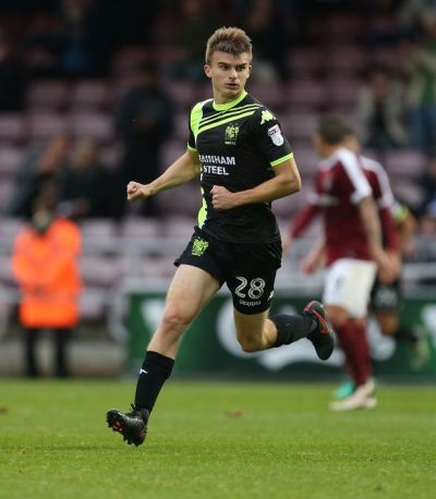 Middlesbrough striker George Miller poised to switch to Bradford City on year long loan deal ...