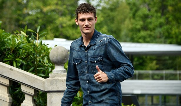 Benjamin Pavard denies Bayern Munich deal with Liverpool said to be     Benjamin Pavard links up with the France squad  Image  AFP