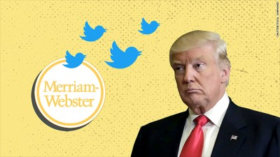 Merriam-Webster's genius Trump trolling: 454,000 followers and counting