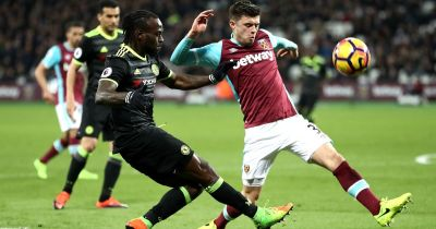 West Ham 1-2 Chelsea live score and goals updates from Premier League clash at the London ...
