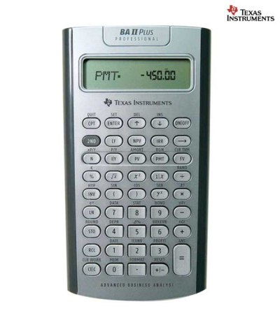 Texas Instruments BA II Professional Financial Calculator: Buy Online @ Best Price | Snapdeal