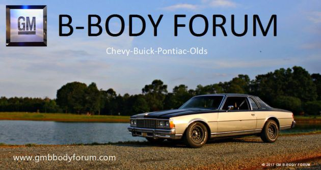 What size wheels will fit on our cars GM B Body Forum  77 79 Caprice Impala Forum