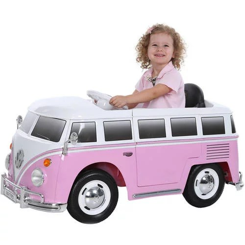 6 volt battery charger WalMart   Wishmindr  Wish List App  dollar 125 Rollplay VW Type 2 Bus 6 Volt Battery Powered Ride On
