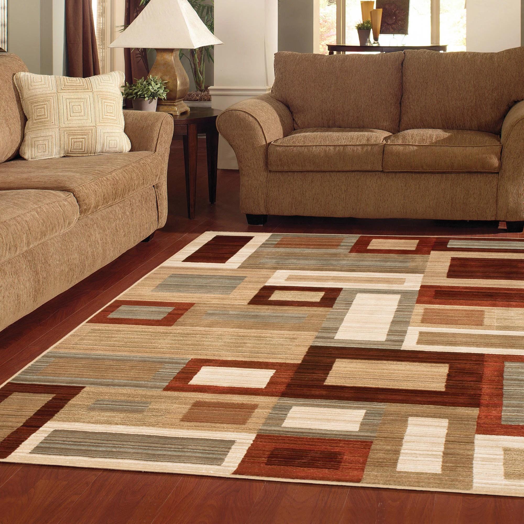 YnJhbmQz kitchen floor mats walmart Better Homes or Gardens Franklin Squares Area Rug or Runner