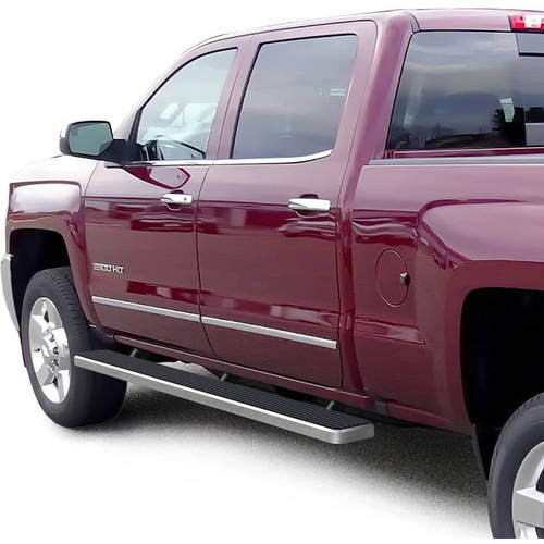 Running Boards and Steps   Walmart com 2007 2018 Chevrolet Silverado   GMC Sierra 1500  2500 3500 Crew Cab 5